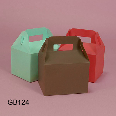 Colored Paper CupCake boxes